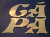 plasztikus réz betűk kivágása/3     Budapest
