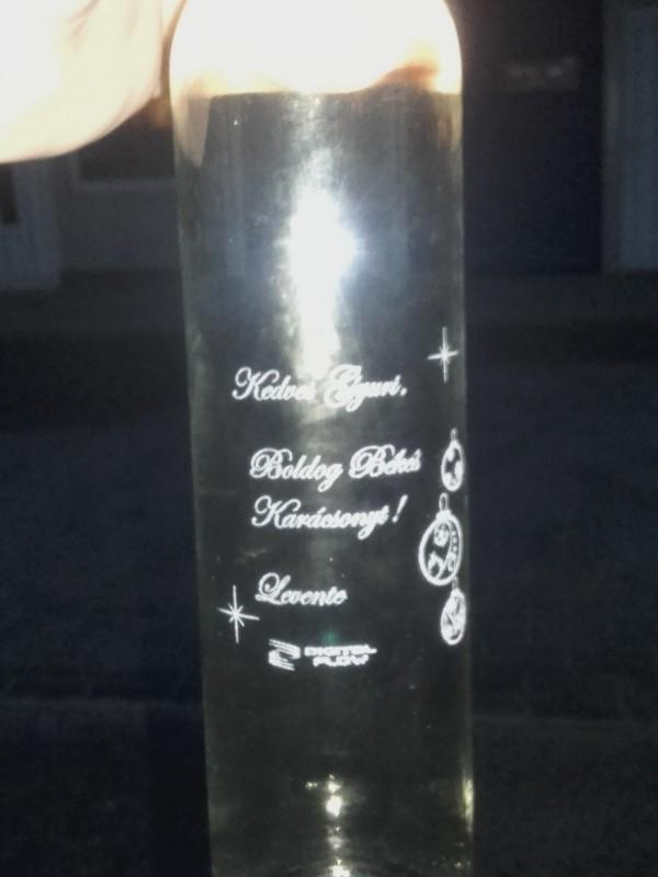 06 feb Gravírozott pálinkás üveg Digital Flow Kft. részére 02b9a94408