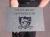 Gravírozott réztábla Top Cop