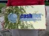 Cashnet réztábla gravírozva.